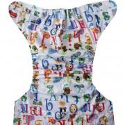 Animal ABC Cloth diaper Full