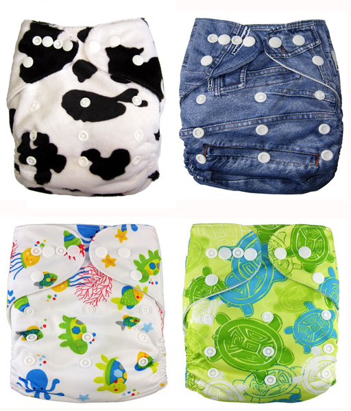 cloth nappy 4 pack