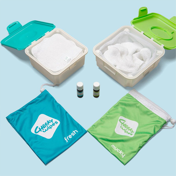 All in One Cloth Wipes Kit