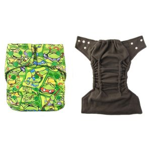 Bamboo Charcoal Nappy Ninja Turtles