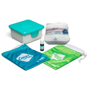 Cloth Wipes Mini Kit New