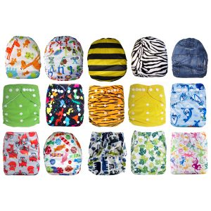 15 Pack Modern Cloth Nappies