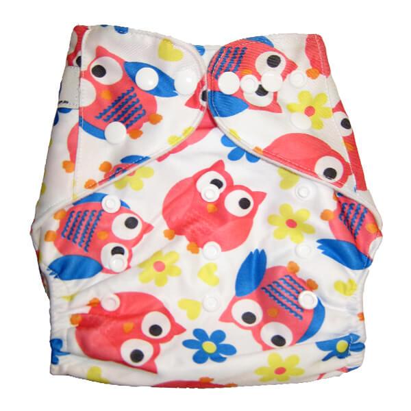 Bright Pink Owls MCN