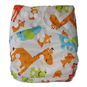 Cute Animals modern cloth nappies