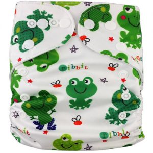 Funky Frogs Modern Cloth Nappies