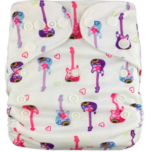 Pink Guitars Modern Cloth Nappies