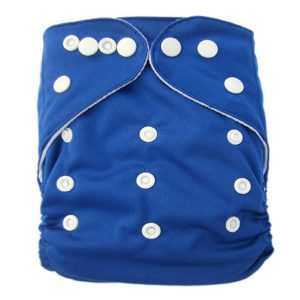 Dark Blue Solid Colour Modern Cloth Nappies