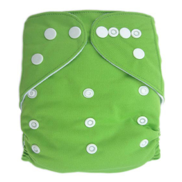 Green Solid Colour Modern Cloth Nappies
