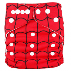 Spider Web Modern Cloth Nappy