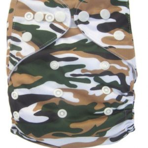 Traditional Camo Modern Cloth Nappy