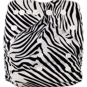 Zebra PUL MCN Modern Cloth Nappy