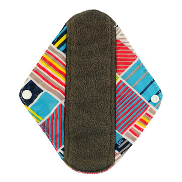 sanitary pad regular stripes