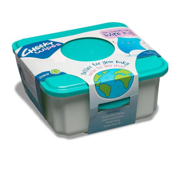 Mini Cloth Wipes Kit Packaging