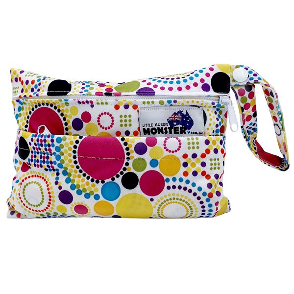 Mini Wet Bag Colourful Spots