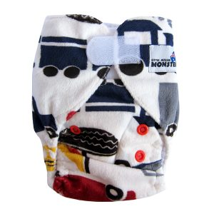 Newborn Prem Cars Trucks Cloth Nappies