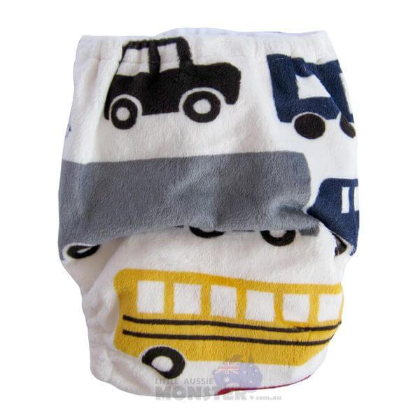 Newborn Prem Trucks Trains Cloth Nappies