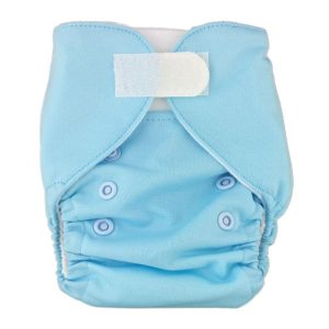 Newborn Prem Light Blue Cloth Nappies