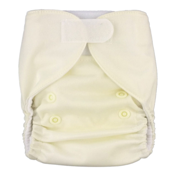 Newborn Prem Cream White Cloth Nappies