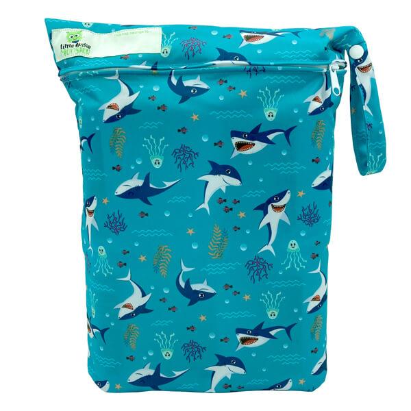 Sharks Wet Bag Front
