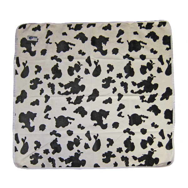 Baby Change Mat Minky Cow