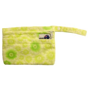 Mini Wet Bag Minky Green