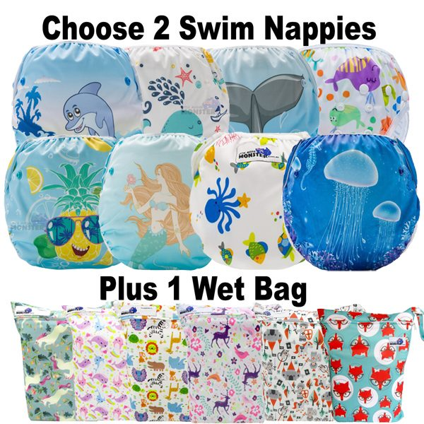 swim nappies package