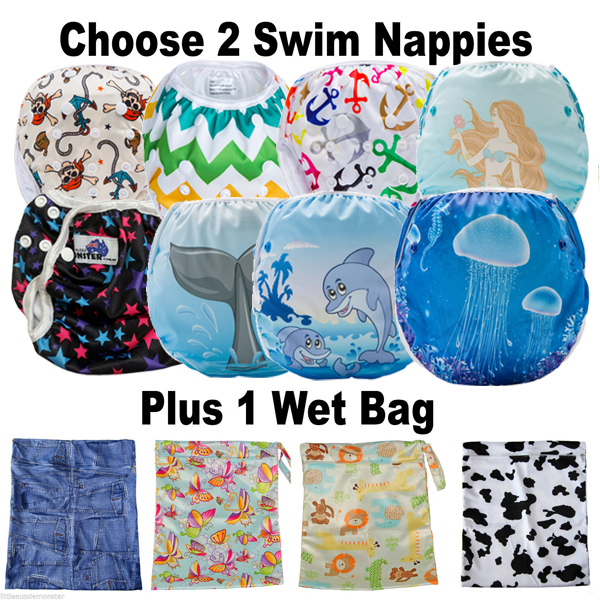 Reusable Swim Nappy Package