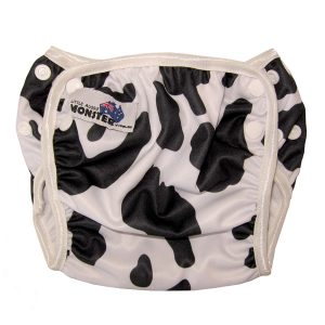 Cow Reusable Swim Nappy