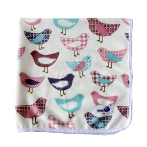 Baby Change Mat Pretty Birds