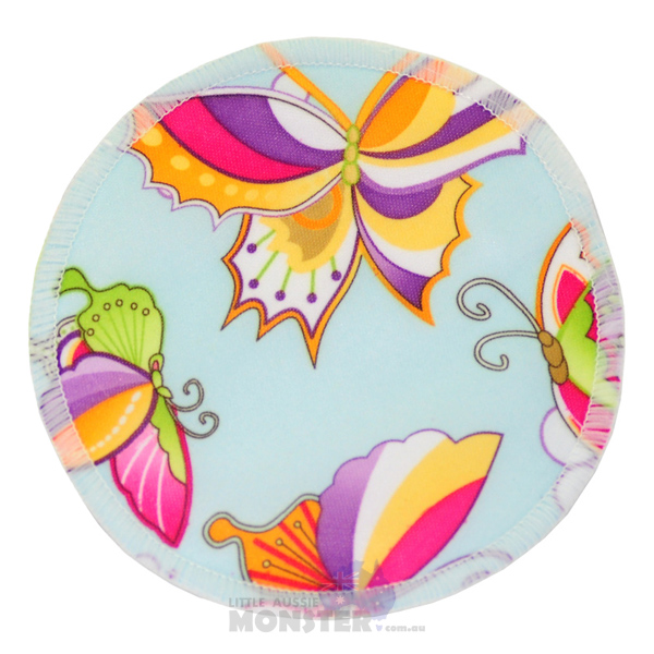 Bamboo Breast Pad Butterflies