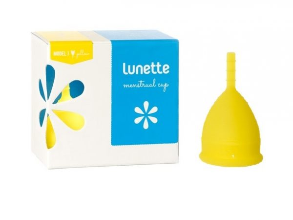Lunette Menstrual Cup Lucia/Yellow Model 1 (SMALL)