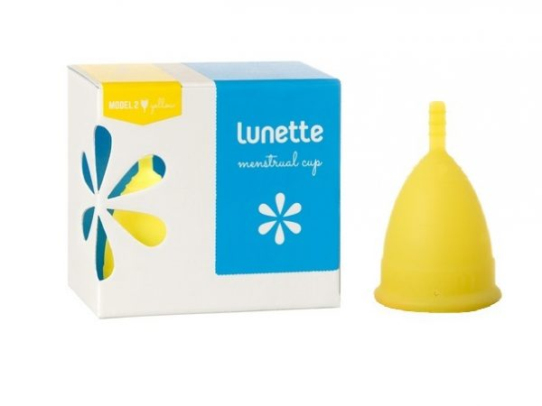 Lunette Menstrual Cup Lucia/Yellow Model 2 (LARGE)