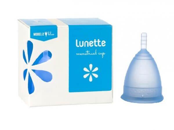 Lunette Menstrual Cup Selene/Blue Model 2 (LARGE)