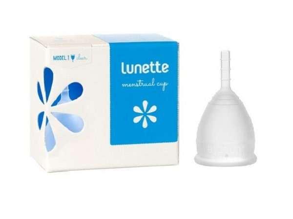 Lunette Menstrual Cup Clear Model 1 (SMALL)