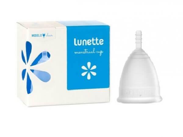 Lunette Menstrual Cup Clear Model 2 (LARGE)