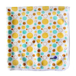Baby Change Mat yellow spots