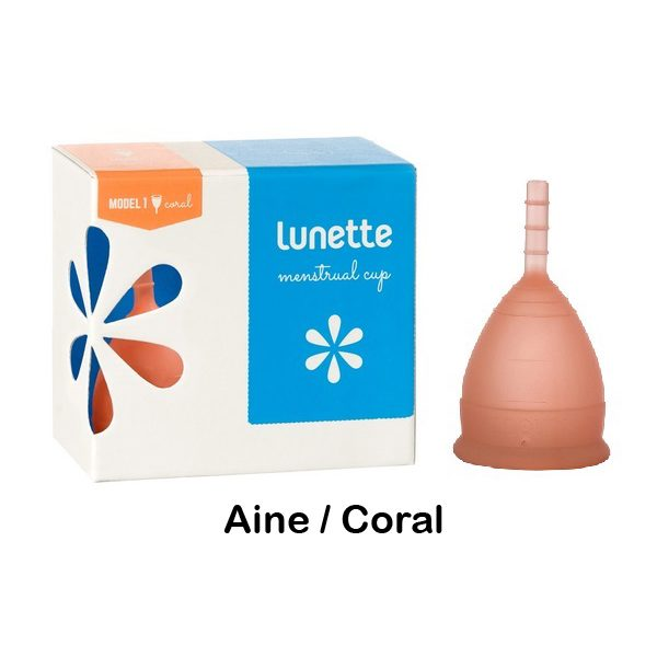 Lunette Menstrual Cup Aine/Orange Model 1 (SMALL)