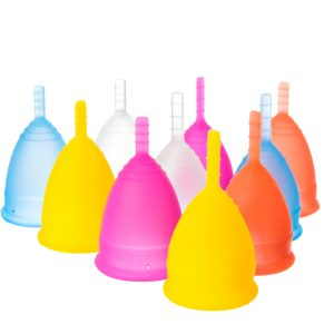All Lunette Menstrual Cup Colours