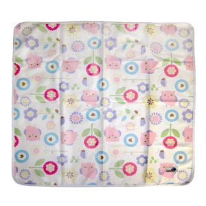 Baby Change Mat owls flowers