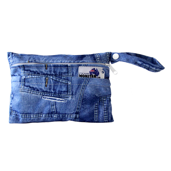 Mini Wet Bag Denim