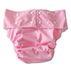 Pink Adult cloth diaper