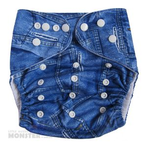 Denim XL cloth nappy