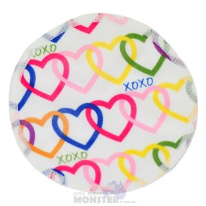 Bamboo Breast Pad Hearts