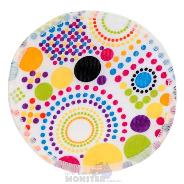 Bamboo Breast Pad Colourful Spots