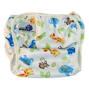 wild animals reusable swim nappy