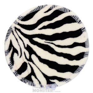 Reusable Bamboo Breast Pad Zebra