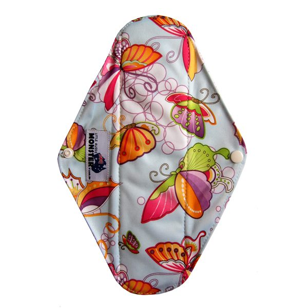 sanitary pad heavy butterfly open