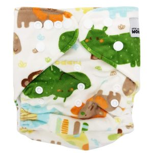Minky Jungle Animals MCN