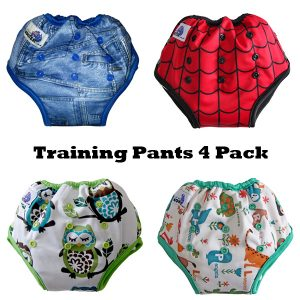 Cloth training pants pack