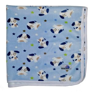 Baby Change Mat Blue Dogs